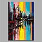 Oil Painting Hand Painted - Abstract Modern Canvas 3204