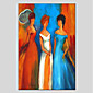 Oil Painting Hand Painted - People Modern Canvas 3204