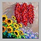 Oil Painting Hand Painted - Holiday Traditional Canvas 3204