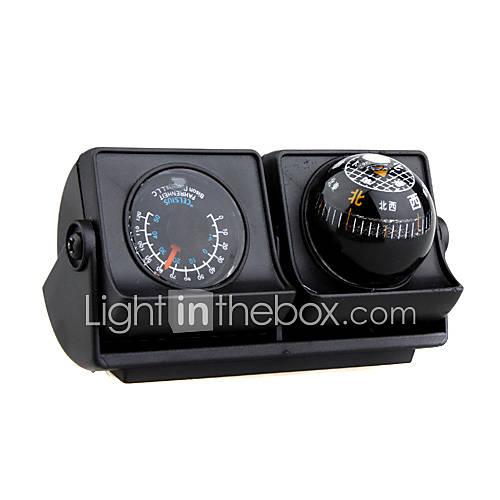 voitures de navigation des véhicules boussole balle avec thermomètre - inclinable LP-503 (szc2396)