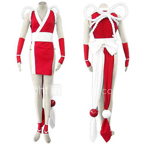 cosplay costume inspiré par le roi de combattant Mai Shiranui