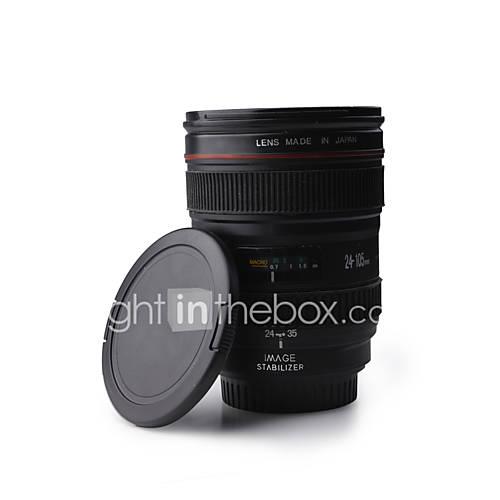 Interesante y Novedosa Taza para Fotógrafos con Forma Real de un Lente Teleobjetivo de 350 ml Descuento en Lightinthebox