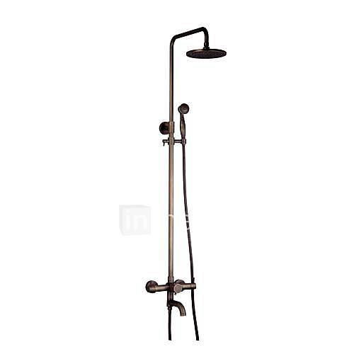 messing antik badewanne dusche wasserhahn mit 8zoll  ~ Wasserhahn Cad