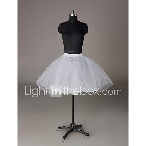 nylon / netos a corto / mini faldas de la boda (0061-9) Descuento en Lightinthebox