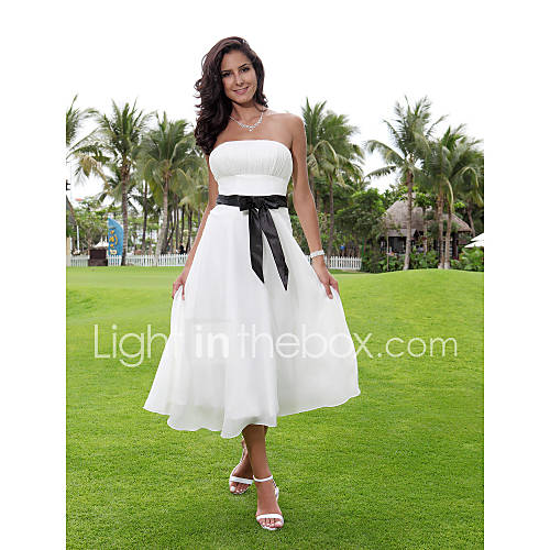 Lanting Bride® A-line Petite / Plus Sizes Wedding Dress