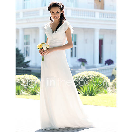 Mermaid Wedding Dress Petite: Lanting Bride® Trumpet / Mermaid Plus Sizes / Petite