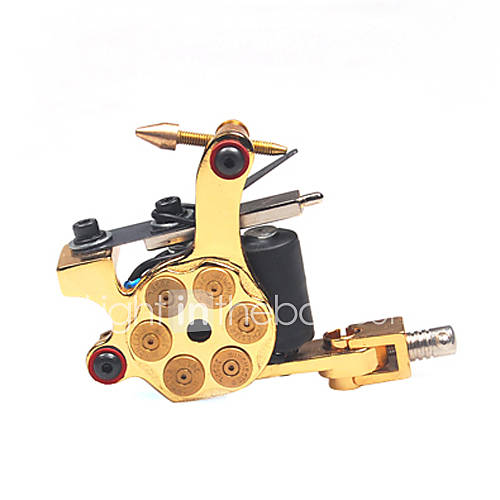 coil tattoo machine professiona tattoo machines cast iron liner and shader hand assembled 204949. Black Bedroom Furniture Sets. Home Design Ideas