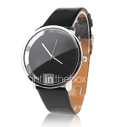 Mujer Reloj de Moda Cuarzo PU Banda Negro Marca- Descuento en Lightinthebox