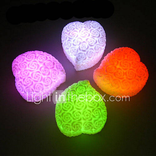 Color changing rose heart led light 226235 2016 for Color changing roses