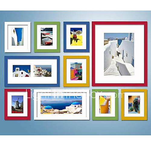 Foto colorida cole o de quadros de parede conjunto de - Fotos de cuadros modernos ...