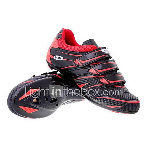 ciclismo su strada le scarpe spd con fibra di vetro suola e tomaia in pvc possono compatibilità spd, look, spd-r, spd-sl