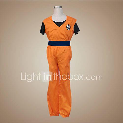 goku (re kai versione) costume cosplay