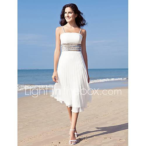 White beach dresses for weddings