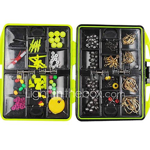 100 pcs Hard Bait Metal Bait Spoons Minnow Crank Pencil Popper Vibration/VIB Lure kits Fishing Lures Metal Bait Lure Packs Vibration/VIB