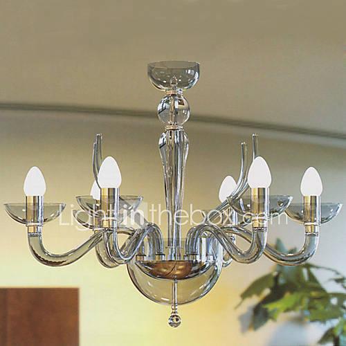 lampadari moderni acrilici con 6 candele luci presenti del 342382 2016 a $224 99 -> Lampadari Moderni Con Abatjour