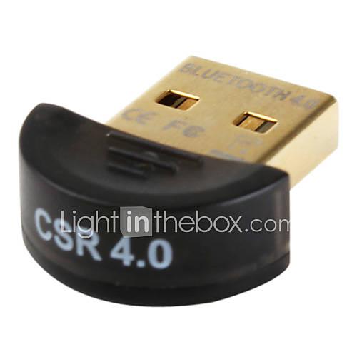 Mini Bluetooth v4.0 csr adaptateur dongle usb