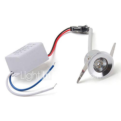 1W Luces de Techo Luces Empotradas 1 LED de Alta Potencia 100 lm Blanco Cálido AC 85-265 V
