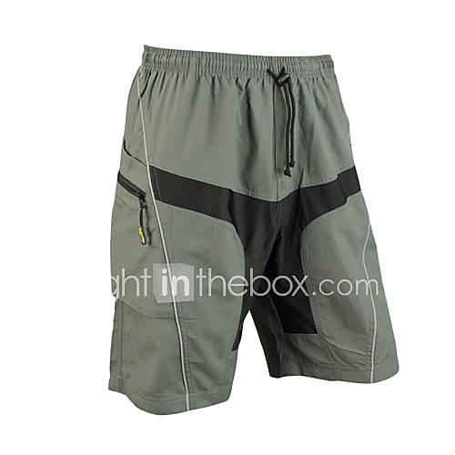 SANTIC Bicicleta/Ciclismo Shorts/Culotte / Pantalones Cortos Acolchados / Prendas de abajo HombresTranspirable / Secado rápido / Listo Lightinthebox