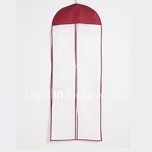 de algodón resistente al agua / zip centro de tul vestido de bolsa para la ropa de longitud Descuento en Lightinthebox
