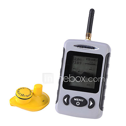 Lucky wireless mode portable lcd fish finder 373910 2016 for Lucky fish finder