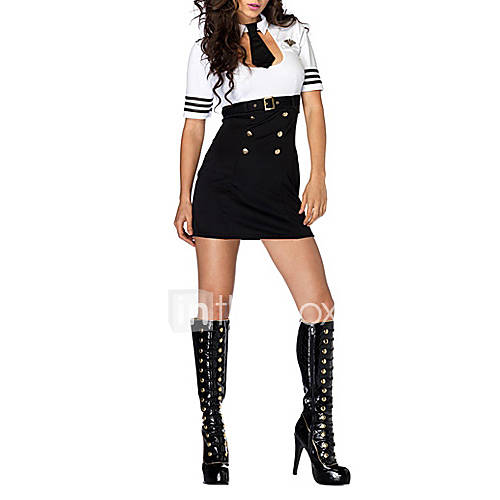 costumes de cosplay costume de soir e policier polici re f te c l bration d guisement d. Black Bedroom Furniture Sets. Home Design Ideas