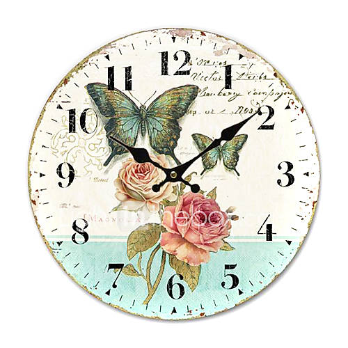 Country Floral Wall Clock 418210 2016 1 61