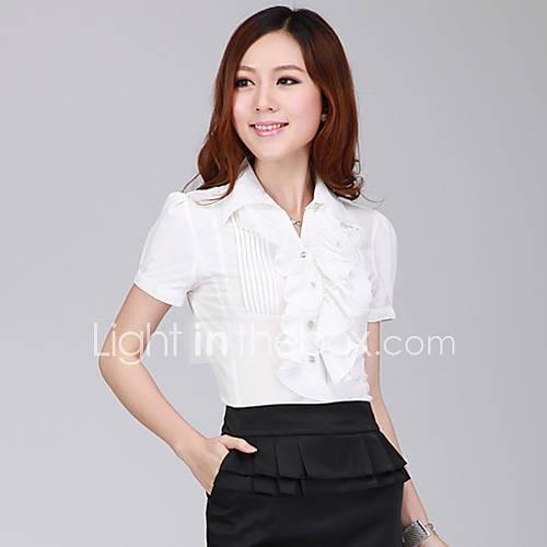 Womens Fashion Chiffon Blouse Shirt