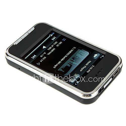 2,8 pouces à écran tactile MP5 FM / appareil photo / enregistreur vocal 4 Go