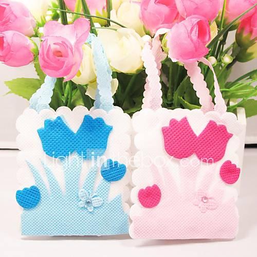 favores y regalos de la fiesta bolsos de regalos no tejido baby shower