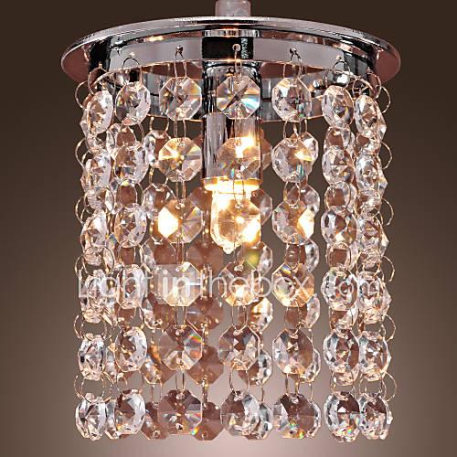 40w moderno, cristallo luce stile semplice