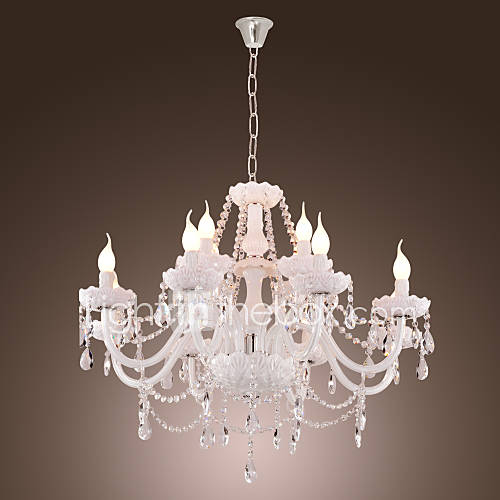 40 Chandelier Modern Contemporary Electroplated Feature