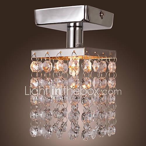 LICHFIELD - Lampadario mini in cristallo