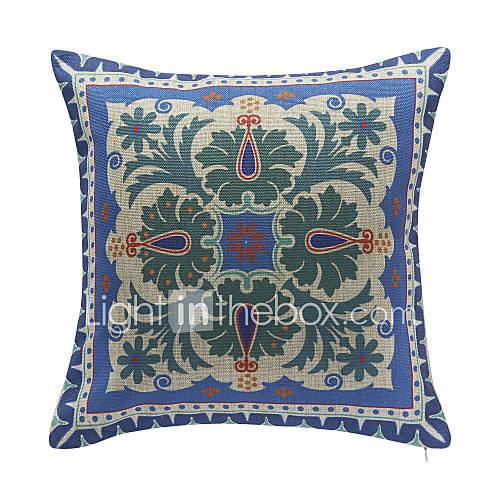 florale de coton modèle oreiller couvercle décoratif