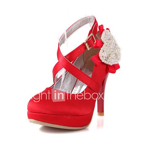 Zapatos de boda tacones tacones boda negro rojo for Zapatos para boda en jardin