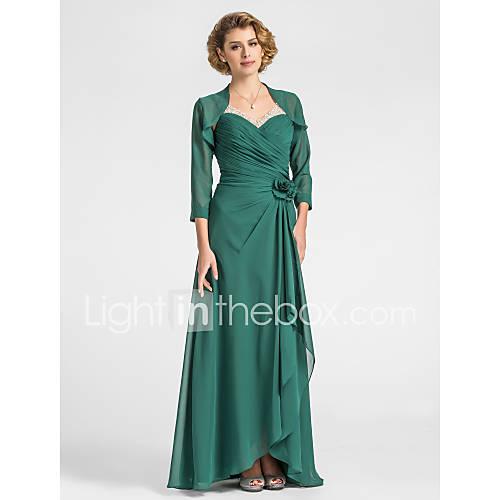 MEDUSA - Robe de Mère de Mariée Mousseline - Châle Inclus