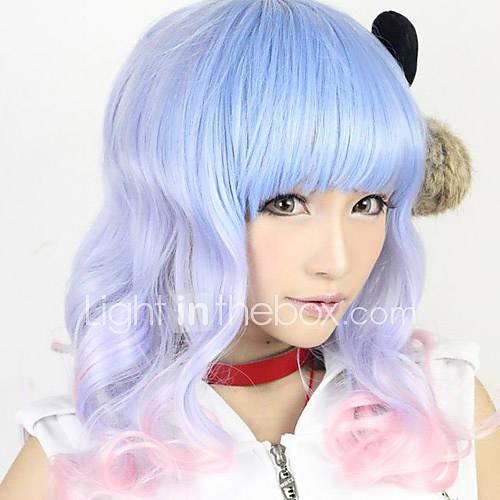 lolita onda peluca inspirada por 55cm de color azul y rosa dulces mixtos Descuento en Lightinthebox