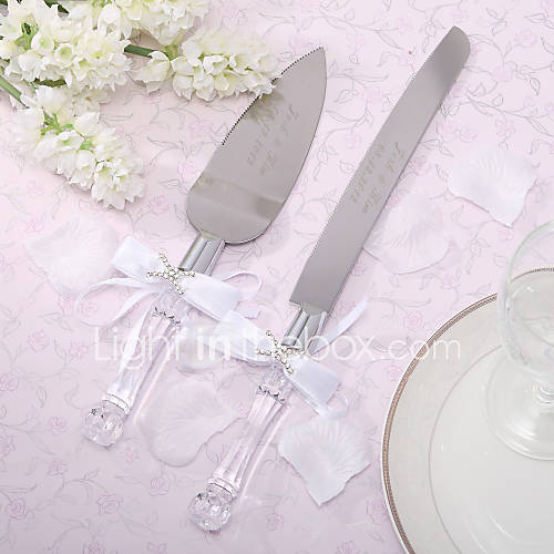 serving sets wedding cake knife personalized cake knife and server set 552149 2016. Black Bedroom Furniture Sets. Home Design Ideas