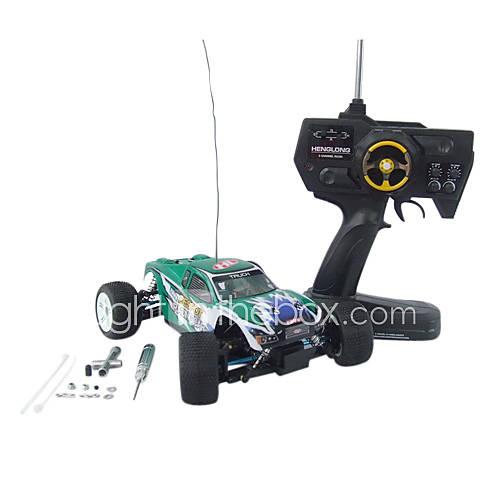 Nouveaux 18.01 Radio Remote Control Car Racing RC électrique voiture Toys Camion Sacker Buggy