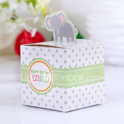 lovely elephant baby shower favor box set of 12 410258 2016 2