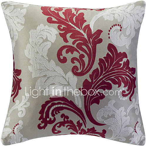 Jacquard Decorative Pillows : Traditional Floral Jacquard Decorative Pillow Cover 564417 2017 ? $9.99