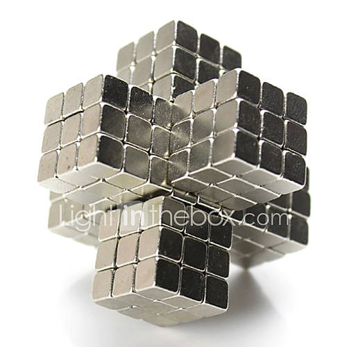 Magnet Toys Building Blocks Neodymium Magnet 216 Pieces 5mm Toys Magnet Magnetic Square Gift