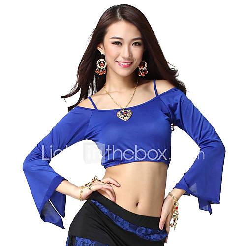 Vêtements Viscose ventre Gallus Top Dance For Ladies Plus de couleurs