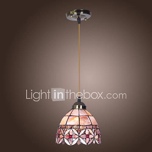 max 60w tiffany bowl mini style pendant lights living room dining room. Black Bedroom Furniture Sets. Home Design Ideas