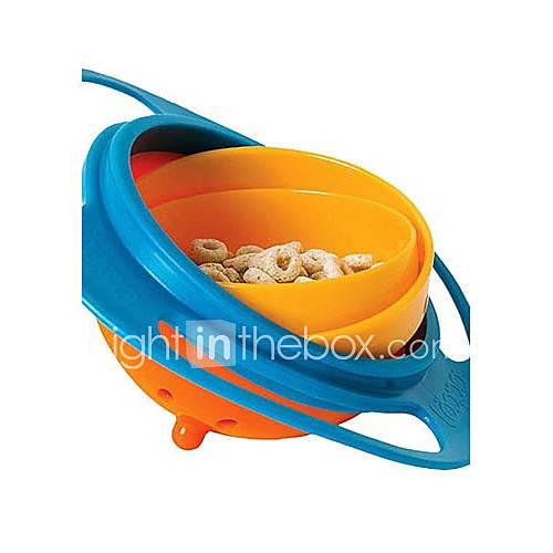 bebé del niño del juguete de alimentación giroscopio chica platos recipiente no derrame universal de 360 rote Descuento en Lightinthebox