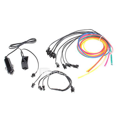 6-medidor-flexivel-decorativa-do-carro-neon-light-4-milimetros-el-wire-rope-com-a-light-car-inverter