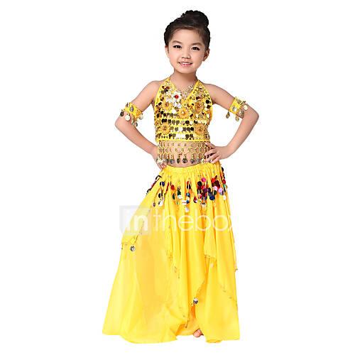 V tements de performance de charme en mousseline de soie avec danse du ventre - Photo de charme en couleur ...