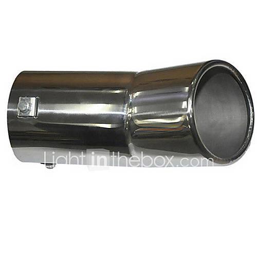 Universal stainless steel muffler for vehicles exhaust