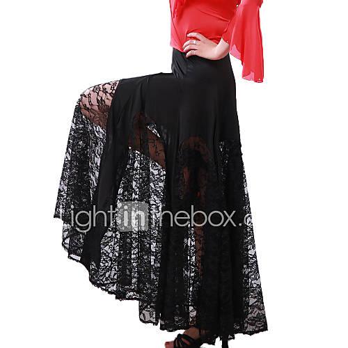 Faldas(Como en la foto,Tul / Viscosa,Danza Moderna) -Danza Moderna- paraMujer Entrenamiento Descuento en Lightinthebox