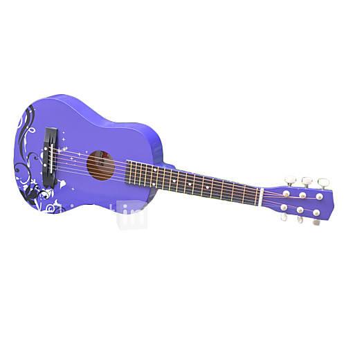 (Spielzeug-Gitarre) 30 Violet Sperrholz Gitarre