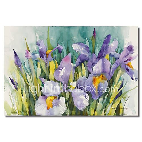 em-canvas-arte-floral-iris-roxas-por-annelein-beukenkamp